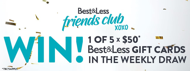 Win 1 of 4 $50 B&L gift cards every month
