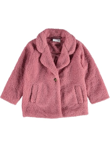 Toddler Girls Textured Coat