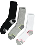 Mens 3 Pack Crew Sport Socks