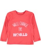 Toddler Girls Print Long Sleeve Tee