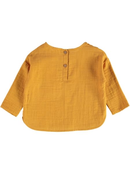 Baby Long Sleeve Cheesecloth Top