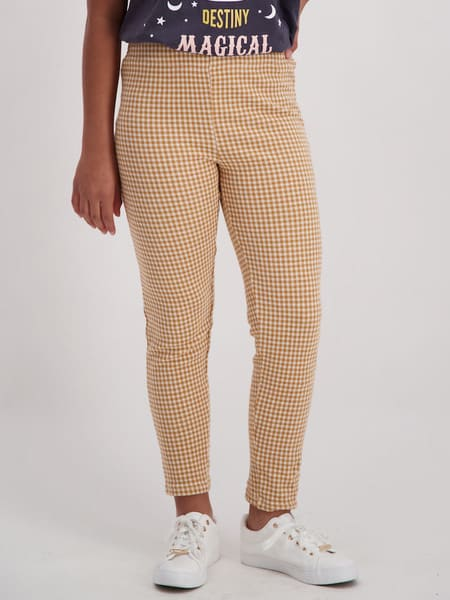 Miss Mango Plaid Legging