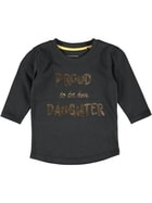 Toddler Girls Foil Tee
