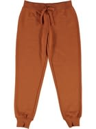Girls Plain Fleece Trackpants