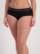 Boyleg Ribbed Wideband Brief