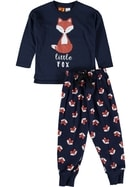 Boys Knit/Flan Pyjama Set