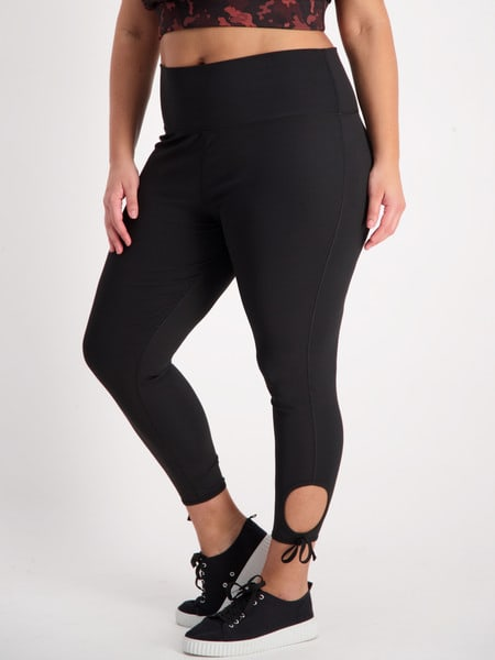 Womens Plus Rib Sculpting Elite Legging