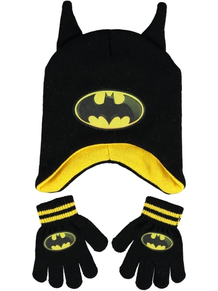 Toddler Boy Batman Beanie And Glove Set