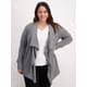 Womens Plus Active Waterfall Jacket