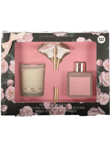 Candle And Diffuser Set