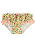Girls Ruffle Edge Brief