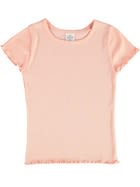 Girls Organic Rib T Shirt