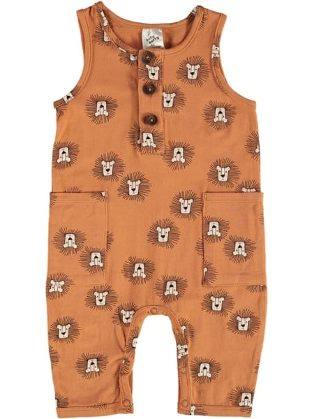 New-Baby-Berry-Baby-Henley-Romper-By-Best-amp-Less thumbnail 5