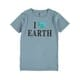 Youth Boys Ss Organic Print Tee