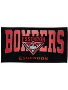 Bombers AFL Adult Beach Towel