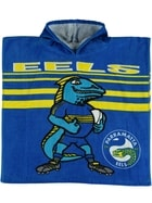 Eels NRL Youth Hooded Beach Towel