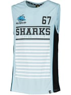 Sharks NRL Mens Muscle Top