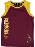Broncos NRL Toddler Muscle Top