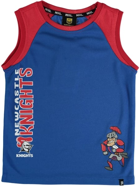 Knights NRL Toddler Muscle Top
