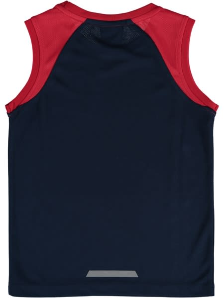 Crows AFL Toddler Mesh Muscle Top