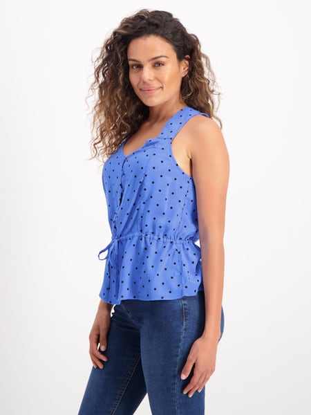 Womens Button Through Tank