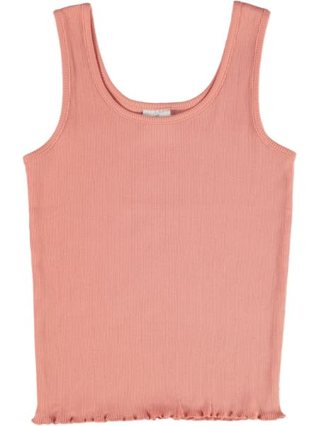 Girls Organic Cotton Rib Tank