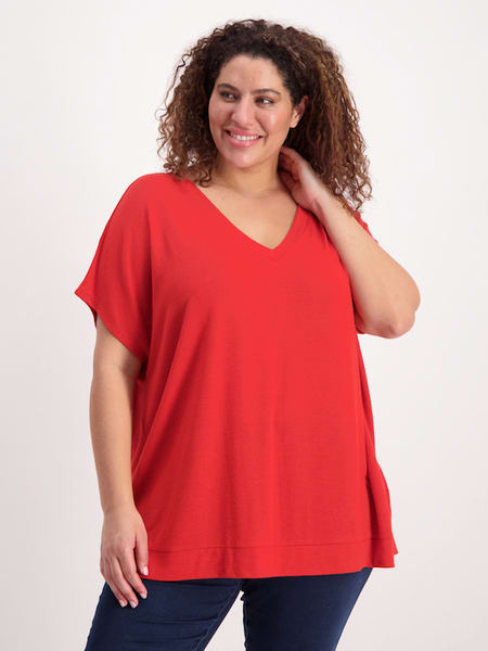 Womens Plus Extended Sleeve Tee