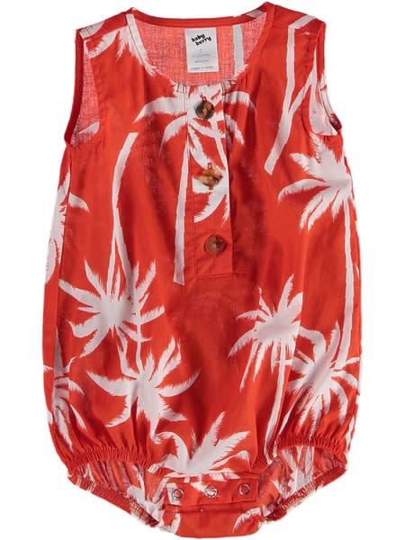 Baby Printed Sunsuit