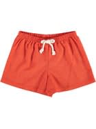 Toddler Girls Linen Rich Woven Short