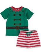 Toddler Boys Christmas Pj Set