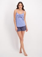 Womens Cotton Cami And Short Pyjama Set