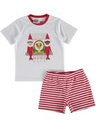 Boys Elf On The Shelf Pyjama Set