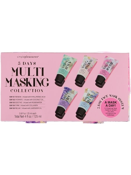 5Pk Gel Face Mask