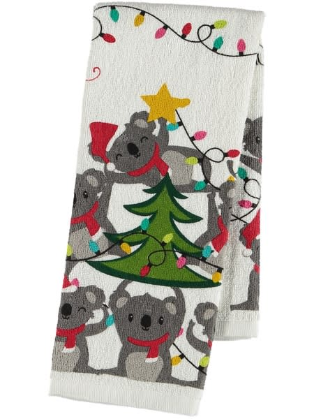 Xmas Terry Tea Towels