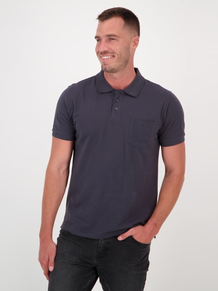 Mens Organic Cotton Short Sleeve Polo