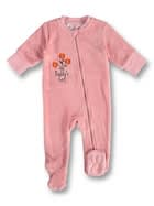 Baby Coral Fleece Romper