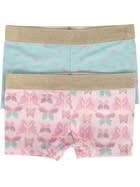 Girls 2 Pack Shorties