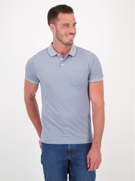 Mens Fashion Short Sleeve Polo