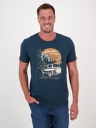 Mens Short Sleeve Print T Shirt