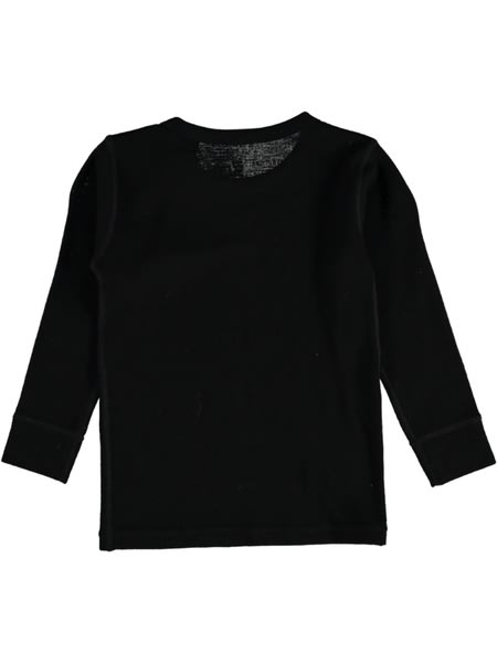 Kids Merino Wool Thermal Long Sleeve Top
