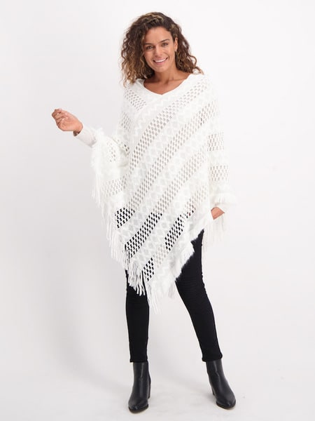 Womens Light Weight Ponchos