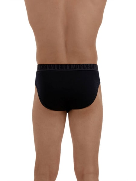 Mens Underworks 5 Pk Hipster Briefs
