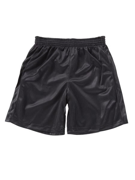 Kids Mesh Reversible School Shorts