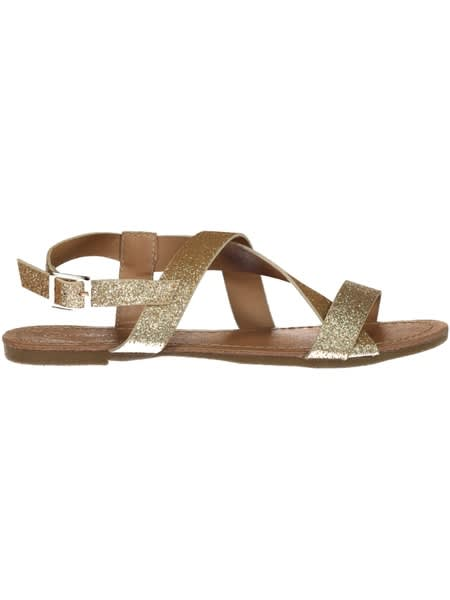 Girls Glitter Sandal