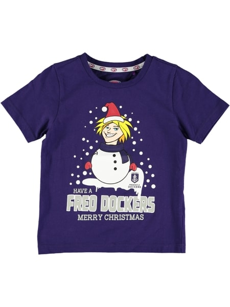 Dockers AFL Toddler Xmas T-Shirt
