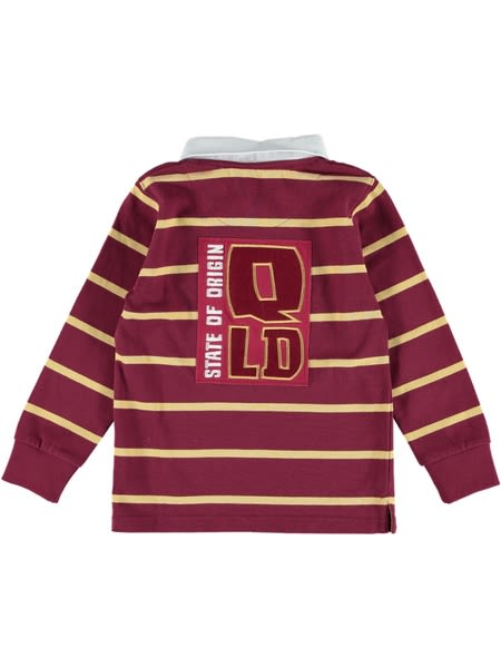 Queensland State of Origin Toddler Rugby Top
