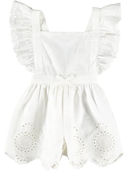 Baby Embroidered Playsuit