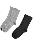 All Day Fine Underworks 2Pk Socks Women