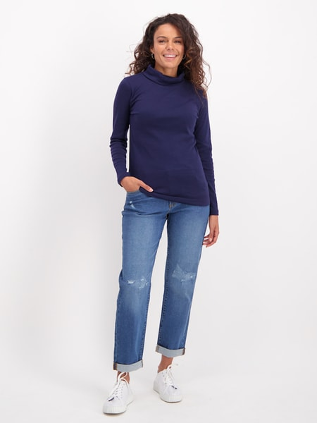 Womens Cotton Skivvy
