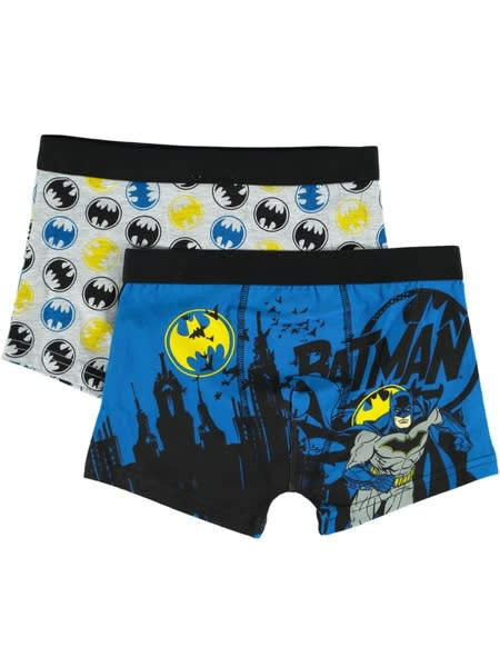 Boys 2 Pack Batman Trunks